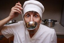 Free Scary Cook Stock Images - 6922164
