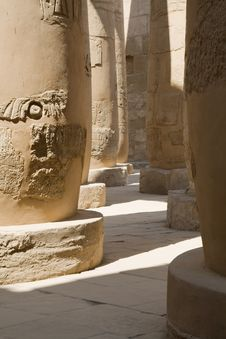 Free Columns In Karnak Temple,Luxor Royalty Free Stock Image - 6922286