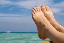 Free Woman S Feet Stock Photography - 6922332