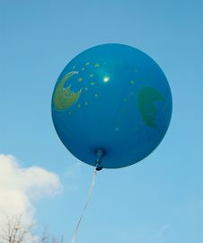 Free Blue Ballon In The Sky. Stock Photography - 6923182