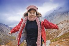 Free Girl And Mountaineering Royalty Free Stock Photos - 6923428