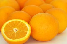 Free A Group Of Oranges Stock Image - 6923861
