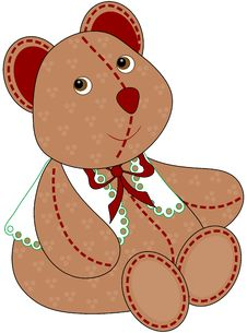 Free Christmas Bear Royalty Free Stock Image - 6924186