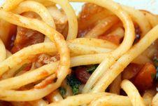 Free Spaghetti Macro Royalty Free Stock Image - 6924926