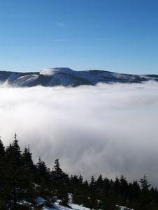 Free Winter Mountains Royalty Free Stock Photos - 6925038