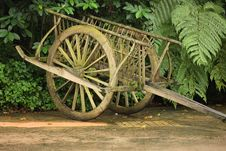 Free Wooden Cart Royalty Free Stock Image - 6925046