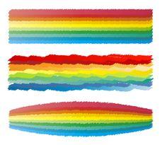 Free Rainbow Crayon Scribble Stock Photo - 6925190