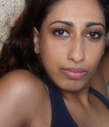 Free Young Female Headshot Royalty Free Stock Image - 6925926