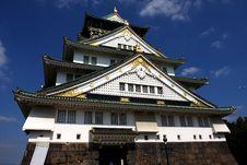 Free Osaka Castle Royalty Free Stock Photos - 6925948