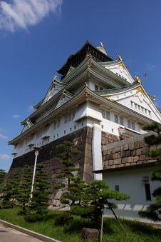 Free Osaka Castle Royalty Free Stock Images - 6926469