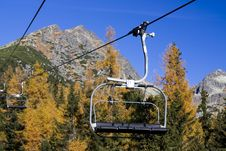 Free Mountain Chairlift Stock Photos - 6926473