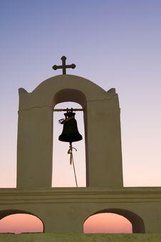 Greek Church Detail Royalty Free Stock Photography