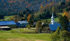 Free Autumn In Vermont Royalty Free Stock Image - 6927336