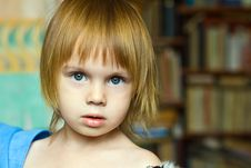 Free Portrait Of Small Beauty Girl Royalty Free Stock Photos - 6927598