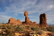 Free Arches National Park Royalty Free Stock Photos - 6928168