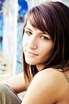 Free Young Woman Close Portrait Royalty Free Stock Photos - 6928198