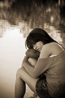 Free Thoughtful Woman Stock Photo - 6928230