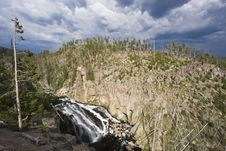 Free Falls In Yellowstone Royalty Free Stock Image - 6928566