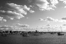 Free Sailboats B&W Stock Photos - 6928713