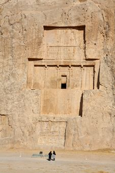 Free Naqsh-e Rostam, Tomb Of Persian Kings Stock Photography - 6929262