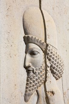 Free Bas-relief Of Persian Soldiers Stock Photography - 6929292