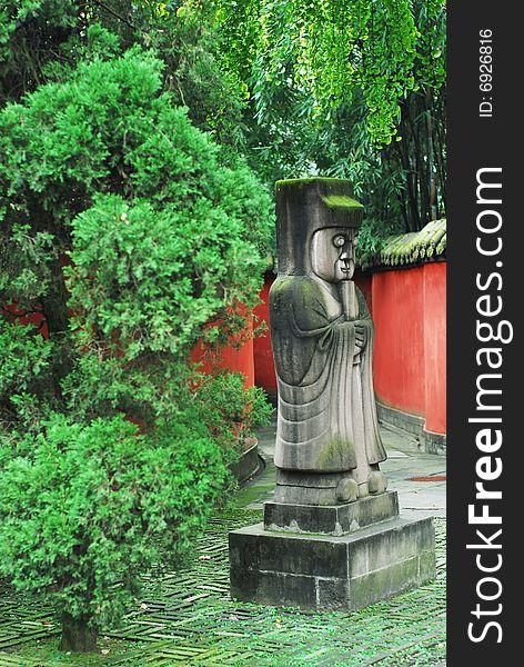 Path to Liu Bei Mausoleum