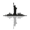 Free Statue Of Liberty In New York Royalty Free Stock Photography - 69237887