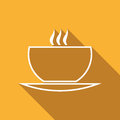 Free Flat Icon Of Cup Of Tea Royalty Free Stock Photo - 69243125
