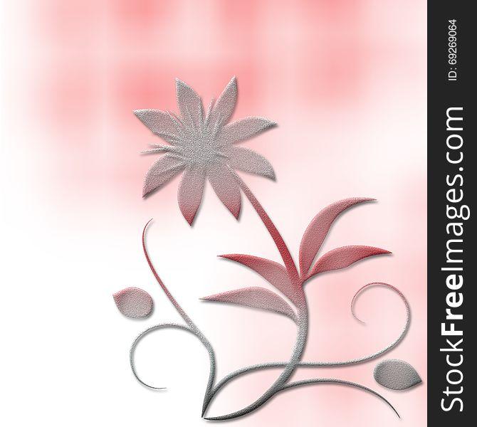 Wedding Invitation Abstract Spring Decorative Background