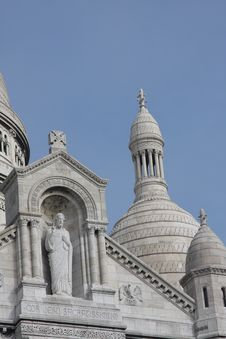 Free Sacre Coeur Royalty Free Stock Image - 6930166