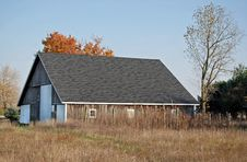 Free October Barn Royalty Free Stock Photography - 6930207
