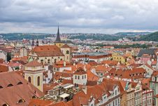 Free Roofs Of Old Prague Stock Image - 6930301