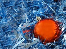 Christmas Ball Decorations Stock Images