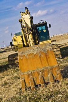 Free Excavator Royalty Free Stock Image - 6931176