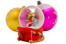 Free Snow Globe - Christmas Souvenir Royalty Free Stock Photo - 6931245