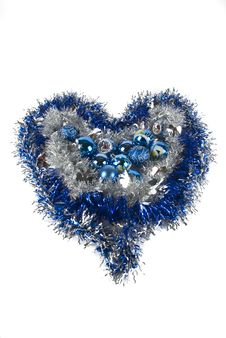 Free Blue Xmas Decoration Stock Photography - 6931322