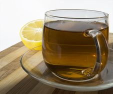 Free Black Tea With Lemon Royalty Free Stock Photo - 6932295