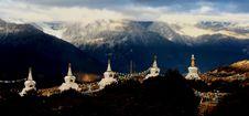 Free Five Stupas Royalty Free Stock Image - 6932636