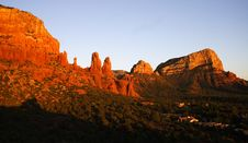 Free Sunset Sedona Royalty Free Stock Image - 6932676