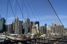 Free Brooklyn Bridge Royalty Free Stock Photography - 6932817