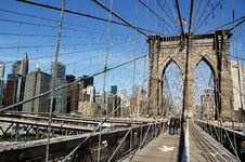 Free Brooklyn Bridge Royalty Free Stock Photo - 6932855