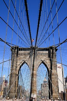 Free Brooklyn Bridge Stock Image - 6932861