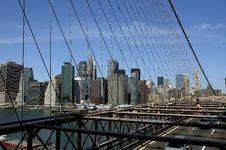 Free Brooklyn Bridge Stock Photography - 6932902