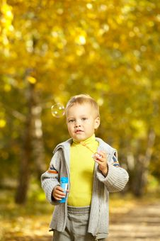 Free The Cheerful Kid Royalty Free Stock Photo - 6933215