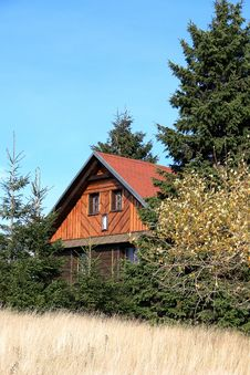 Old Chalet Royalty Free Stock Photography
