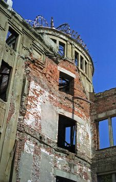 Free Atomic Bomb Dome In Hiroshima Stock Photography - 6935482