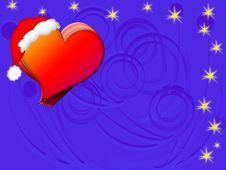 Free Love Christmas Card Stock Photography - 6936492