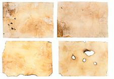 Free Very Old Paper With Burnt Edges Stock Photo - 69300560
