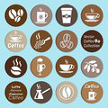 Free Vector Collection: Coffee Icons Royalty Free Stock Image - 69418536