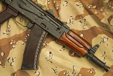 Free Chocolate Chip Kalashnikov Stock Image - 69466781
